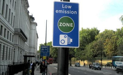Ultra Low Emission Zone (Ulez) In London Brought Forward To April 2019
