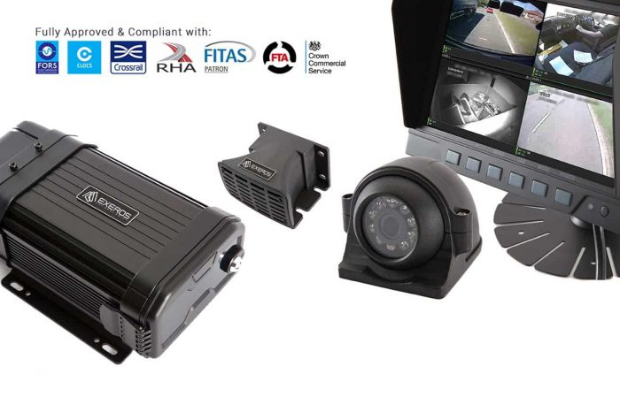 Vehicle CCTV Systems by Exeros