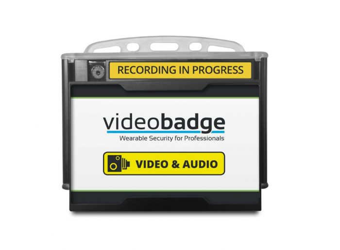 VideoBadge 100 body worn camera by Exeros Technologies