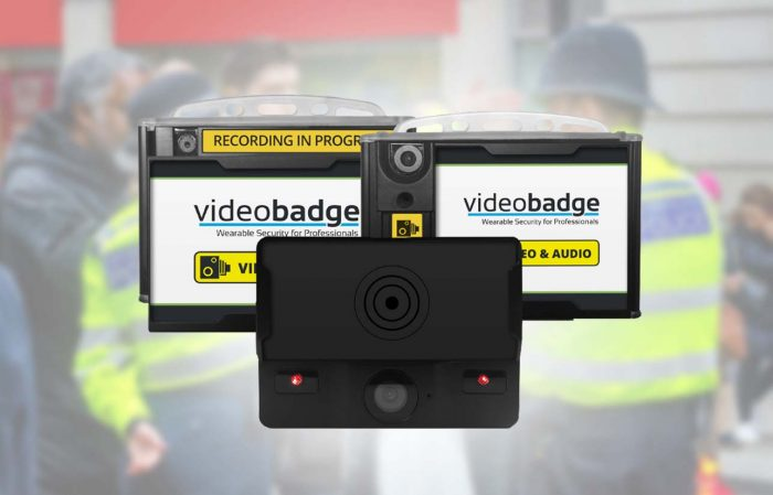 Range of body worn video solutions available for police and lone workers