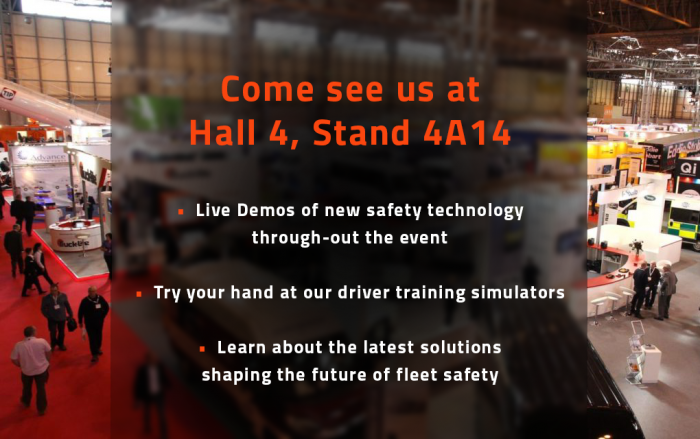 CV Show 2019 - Register your interest in our new Driver Training simulators - Click here