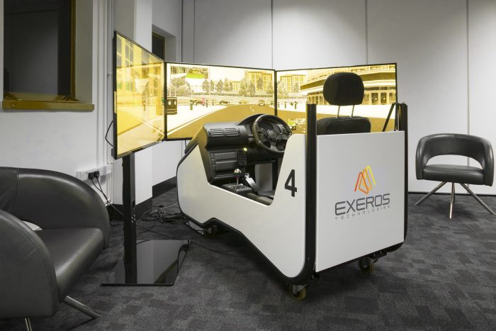 Exeros driver training simulators and VR-based professional development