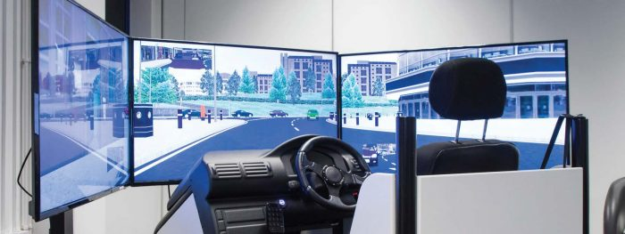 Driver training Simulator by Exeros